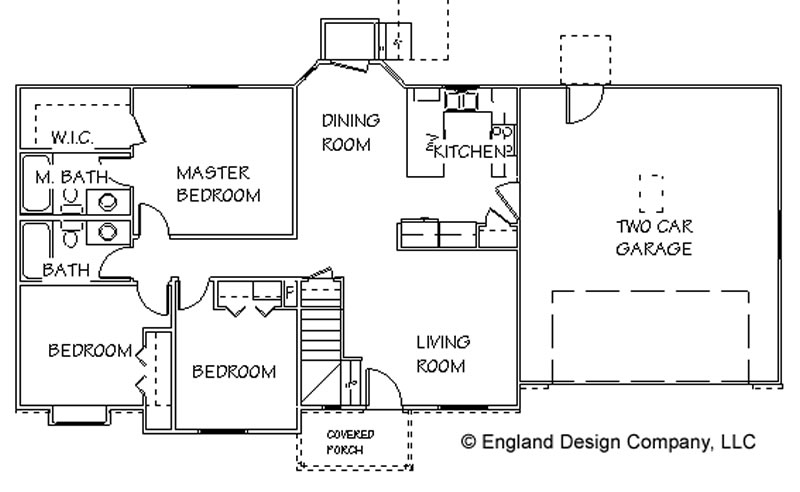 Simple Country House Plans Designs, Home Floor Plans – Donald A