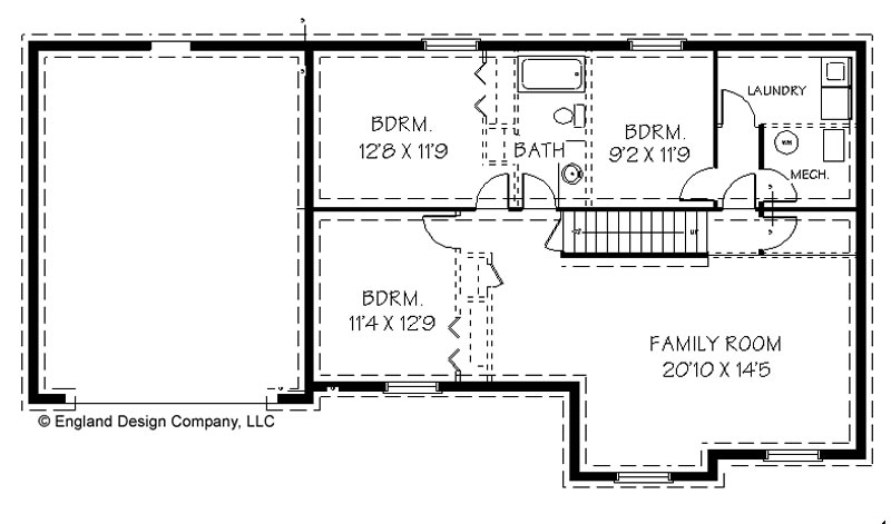 House plans and home designs free blog archive ranch Ranch basement floor plans