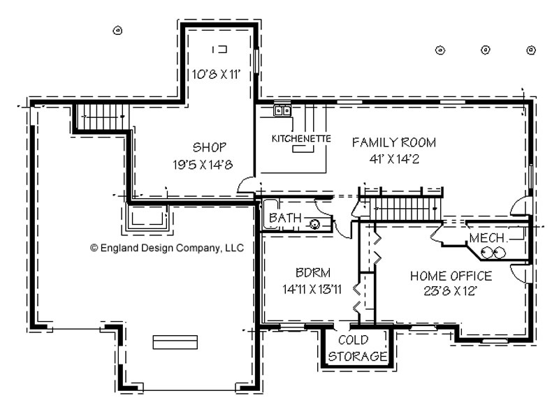 Garage plans with basements floor plans House plans with garage in basement