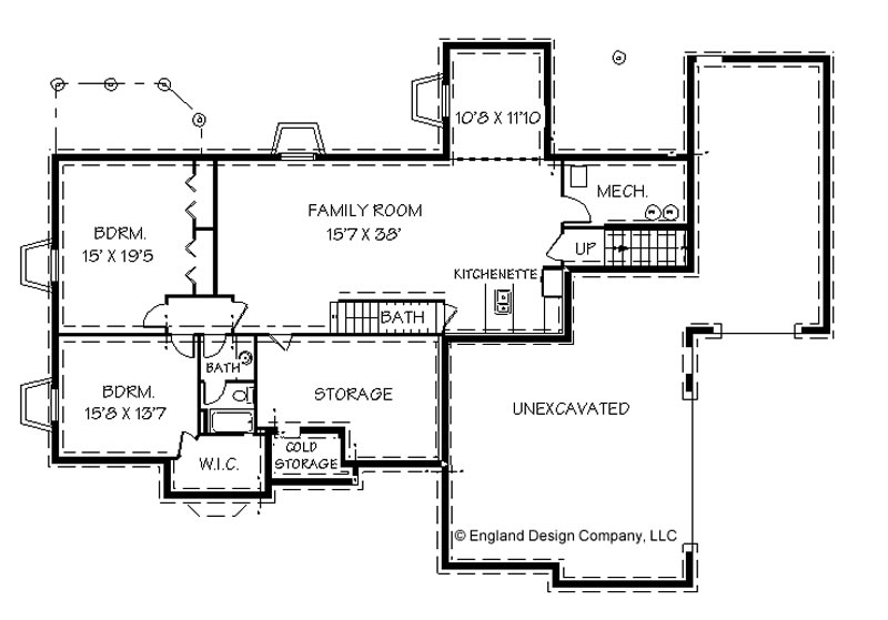 ranch home plans with basement