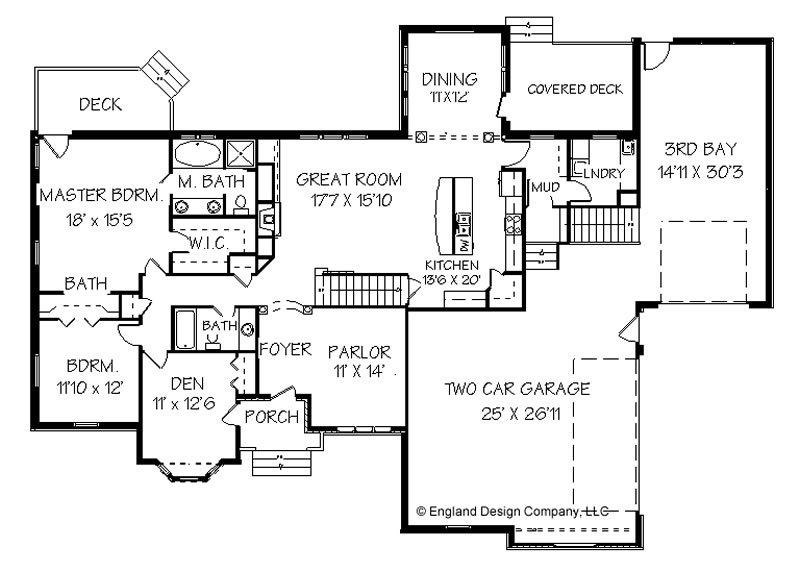 Ranch Home Plan, Ranch House Plans and Classic Ranch Styles