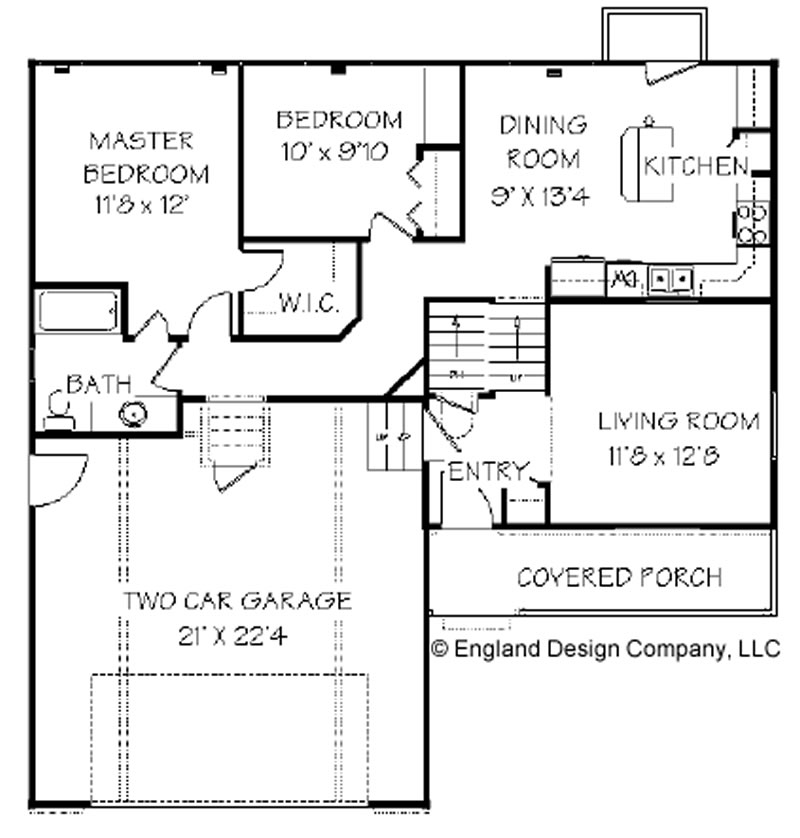 One Level House Plans Floor Plans
