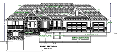 House plans bluprints home plans garage plans and for How to read foundation blueprints