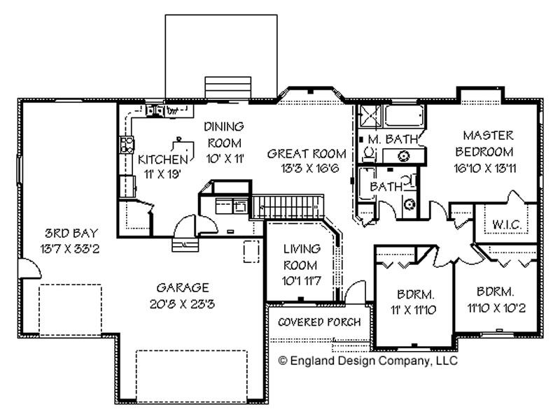 House plans bluprints home plans garage plans and for Ranch house blueprints