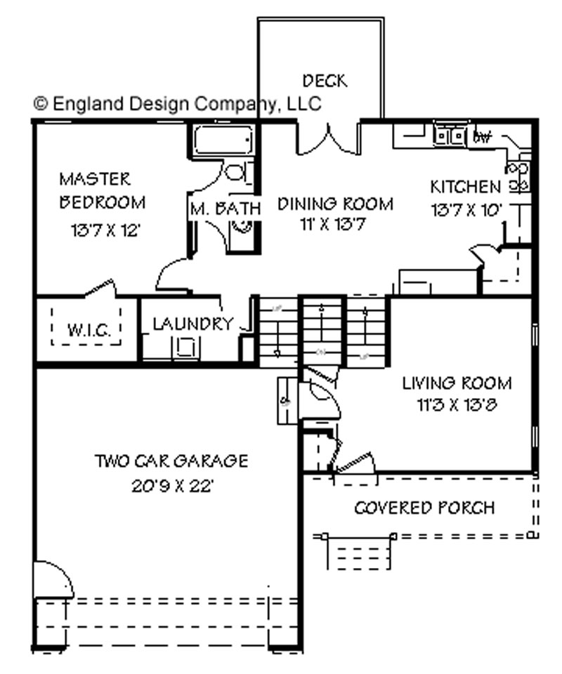 Split floor plans find house plans Split floor plan