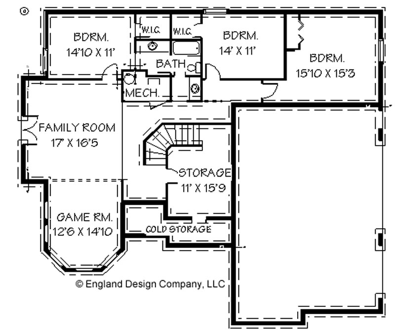 Two story house plans with basement House plans with basement garage